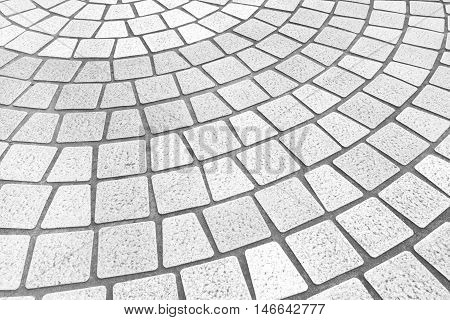 Outdoor stone block tile floor background and pattern Floor tile background
