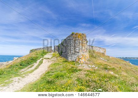 Fort Pezeries, on the Island of Guernsey