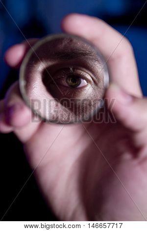 Eye In The Mirror