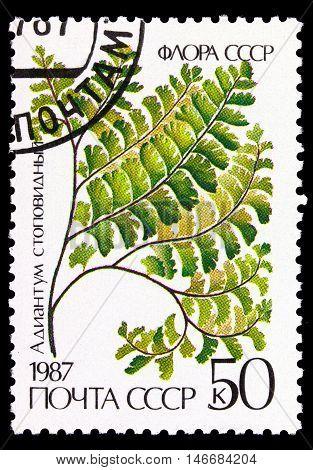 Ussr - Circa 1987
