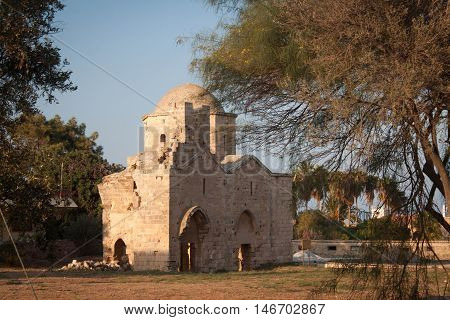 Ruins of the church of St. Nicholas in the old Famagusta. Northern Cyprus.