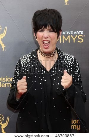LOS ANGELES - SEP 10:  Diane Warren at the 2016 Creative Arts Emmy Awards - Day 1 - Arrivals at the Microsoft Theater on September 10, 2016 in Los Angeles, CA