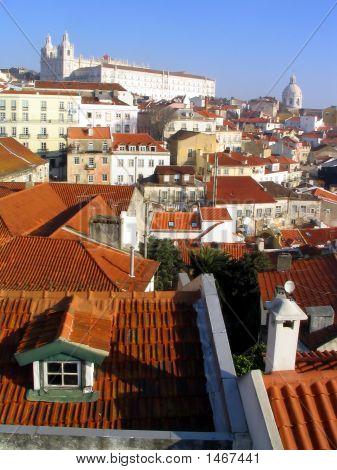 Roofs Of Alfama