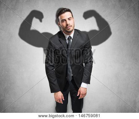 Motivation concept, hidden energy