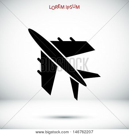 Plane Vektor Icon