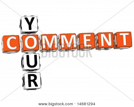 Your Comment Crossword
