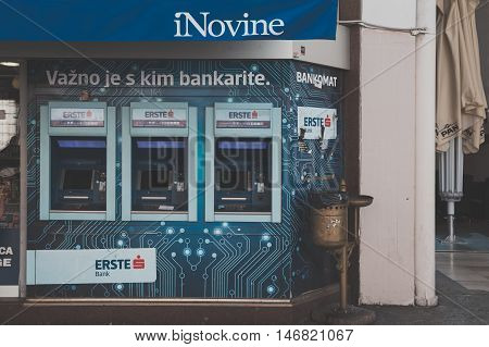 Automatic Teller Machine In Rijeka, Croatia