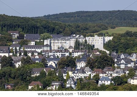 District Wellersberg in the city of Siegen. North Rhine Westphalia Germany