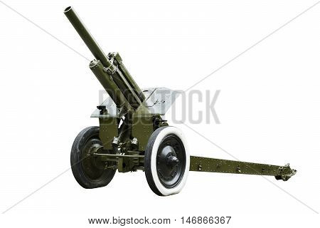 122 -mm howitzers (M - 30 ) of the Soviet army in 1938 sample . It was used during the Second World War