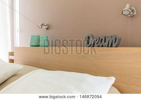 Dreamy Bedroom In Beige Idea
