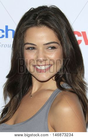 LOS ANGELES - SEP 9:  Danielle Campbell at the 5th Biennial Stand Up To Cancer at the Walt Disney Concert Hall on September 9, 2016 in Los Angeles, CA