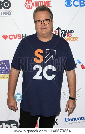 LOS ANGELES - SEP 9:  Eric Stonestreet at the 5th Biennial Stand Up To Cancer at the Walt Disney Concert Hall on September 9, 2016 in Los Angeles, CA
