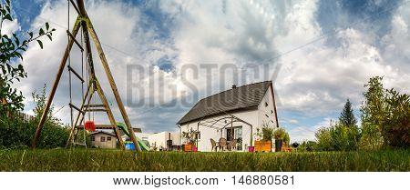New Suburban Family House Near The City