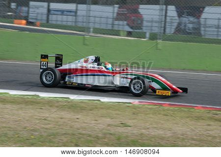 Vallelunga, Rome, Italy. September 10Th 2016. Formula 4 Championship