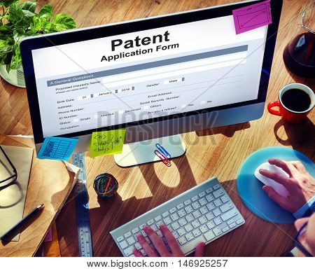 Patent Protection Intellectual Property Concept