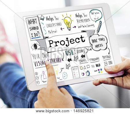 Project Collaboration Operation Management Task Concept