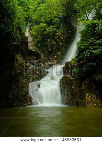 Namtok Phlio Waterfall @ Namtok Phlio National Park, Chanthaburi, Thailand