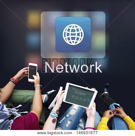 Communication Connection Network Globe Concept