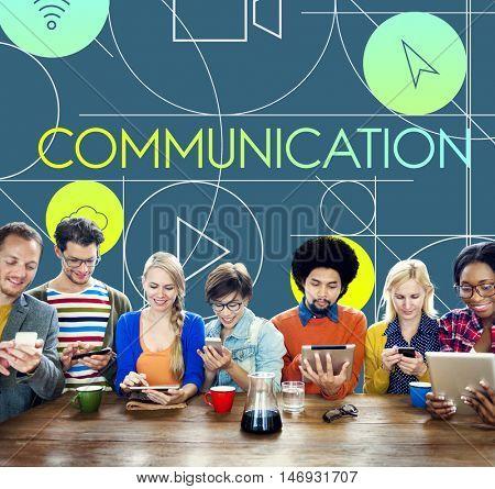 Communication Social Media Internet Multimedia Concept