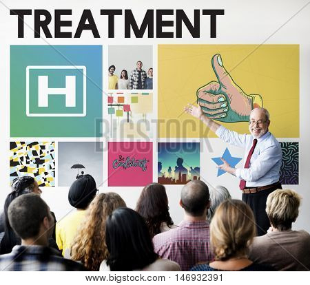 Hospital Healthcare Treatment Cure Concept