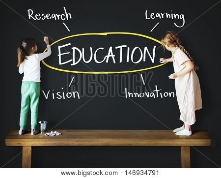 Education Inspire Learn Diagram Concept