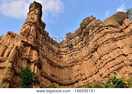 Pha Chor the canyon in ChiangMai, Thailand