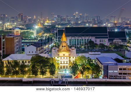 Bangkok Thailand - January 29 2014: Thammasat University is Thailand's second oldest institute of higher education. It was established to be the national university of Thailand on June 27 1934.