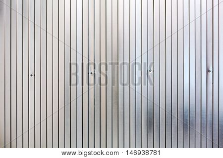 Corrugated Metal Surface, Galvanized Steel Background
