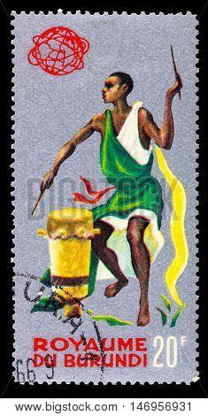 Burundi - Circa 1965