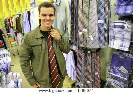 Man Buy Tie