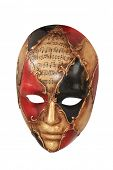 Beautiful carnival mask from venice Italy poster