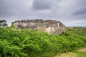 Fortification built on Guernsey by the occupying German Forces during WW2 poster