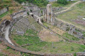 Roman Theatre In Volterra