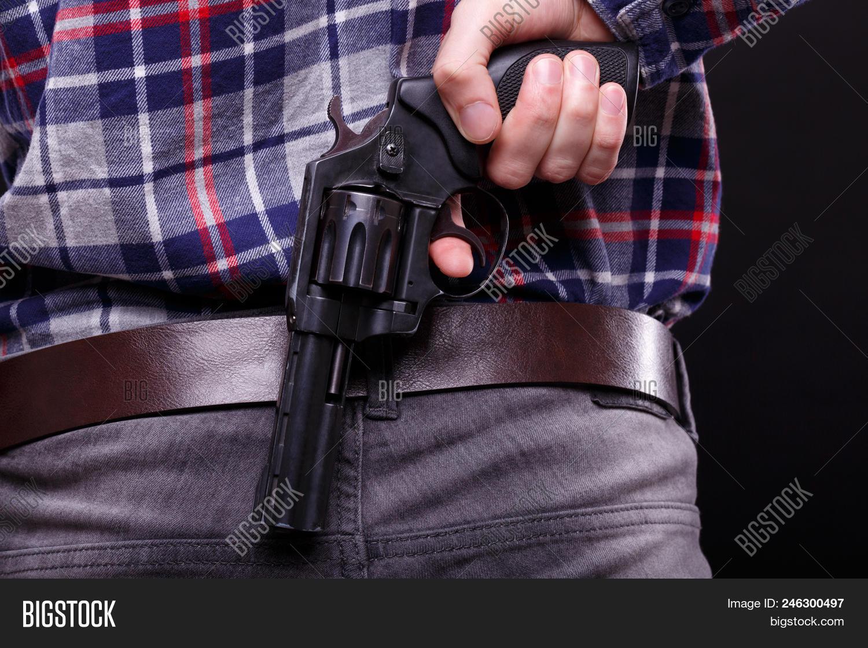 Man Plaid Shirt Hides Image & Photo (Free Trial) | Bigstock