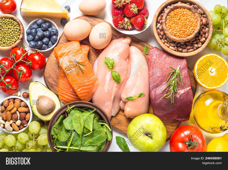 Balanced Diet Food Image Photo Free Trial Bigstock