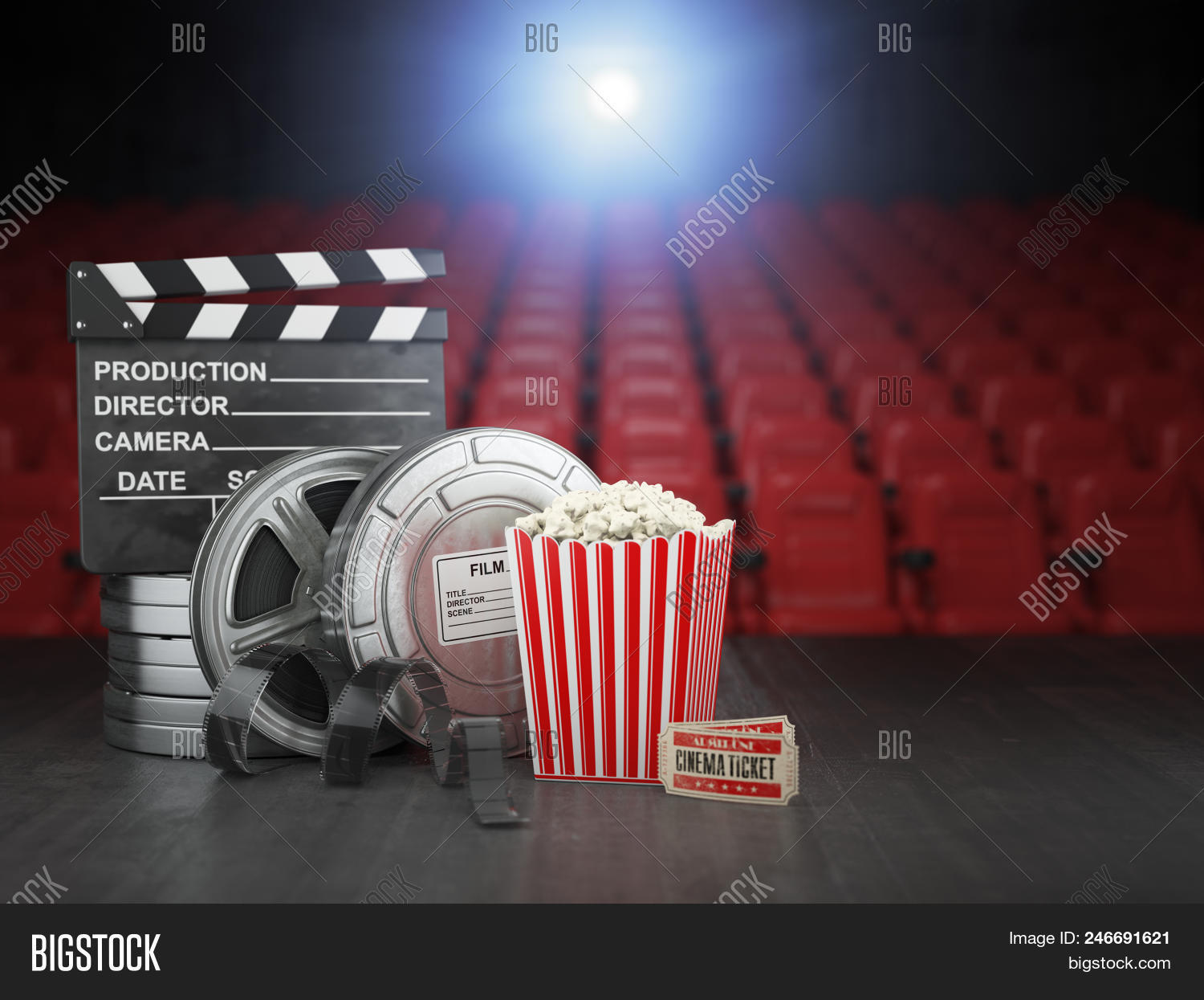 Picture of: Cinema Movie Home Image Photo Free Trial Bigstock