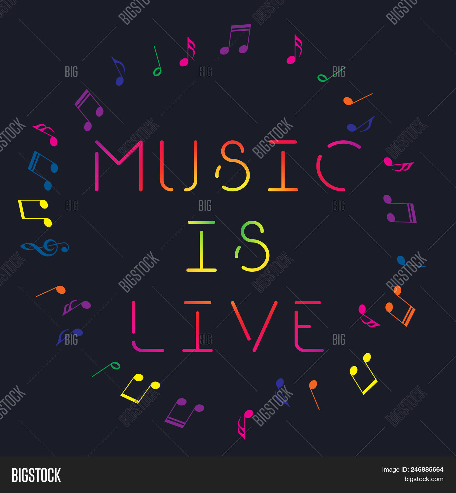 Music Art Logo. Street Image & Photo (Free Trial) | Bigstock