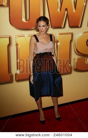 NEW YORK - OCTOBER 24: Sarah Jessica Parker attends the premiere of