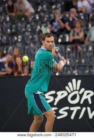 Tennis Player Mike Bryan