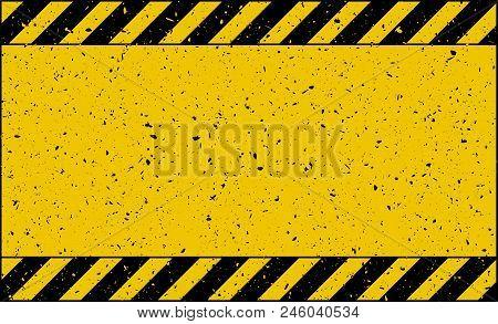 Caution Tape Old Grunge Background  Wallpaper Design