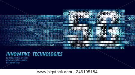 5g New Wireless Internet Wifi Connection. Big Data Binary Code Flow Numbers. Global Network High Spe