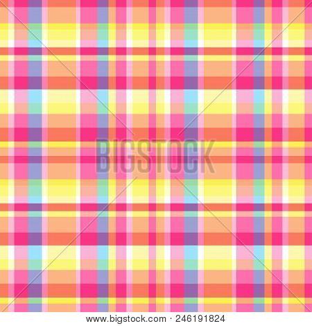 Seamless Multicolored Vector Photo Free Trial Bigstock