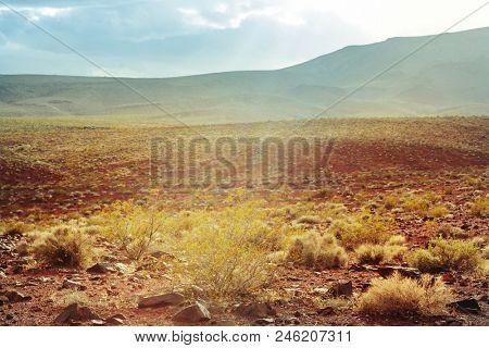 American landscapes -prairie at sunrise