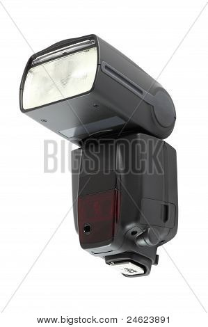 Front of camera flash light