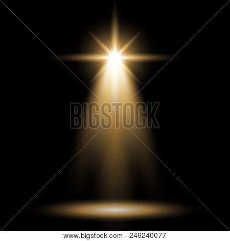 Spotlight Glow Effect Vector & Photo (Free Trial) | Bigstock