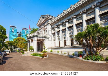 Ho Chi Minh City Museum Or Bao Tang Thanh Pho Is A Historical Site And Museum In Ho Chi Minh City Or