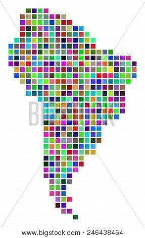Multi Colored Dot Vector Photo Free Trial Bigstock