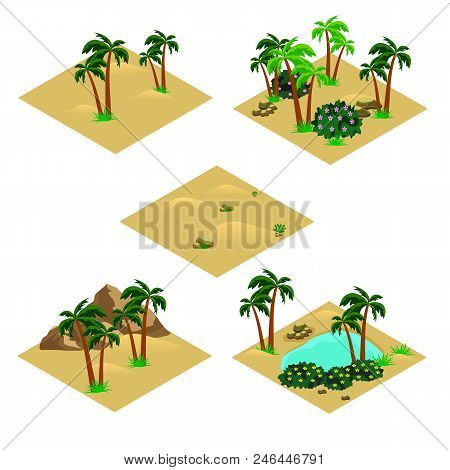 Desert Landscape Vector & Photo (Free Trial) | Bigstock