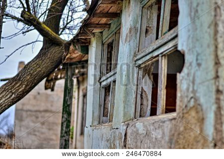 Old And Abandoned House Where Nobody Lives