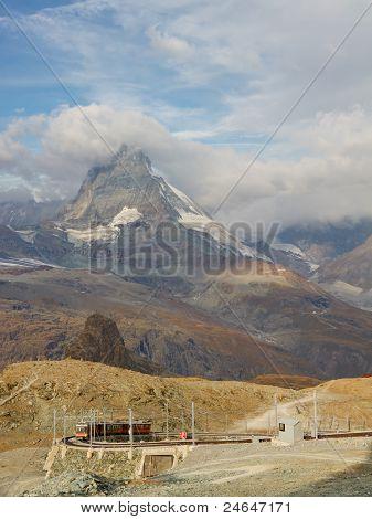 Matterhorn And Gornergratbahn